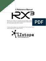 RX 3 Help