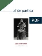 Beckett Samuel - Final de Partida