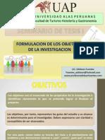 Seminario de Tesis i Como Formular Objetivos en La Investigacion_04