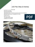 Tira 5060 Media Caña ext RGB de 60 LEDs-m x5m  vultima2