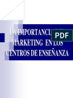 Fundamentos de Marketing Educativo
