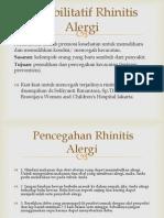 Rehabilitatif Rhinitis Alergi