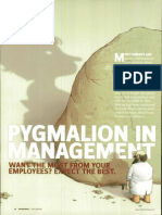 8. Pygmalion in Management (1)