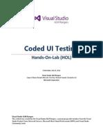 Coded UI Testing HOL