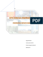 Trabajo Energias Renovables y Proyecto Casa Sustentable