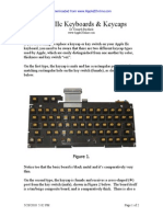 Apple IIc Keycaps