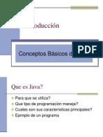Conceptos Basicos de Java