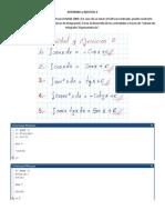 Calculo de Integrales Trigonometricas