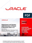 Deployment and System Administration of Oracle E-Business Suite 12.2
