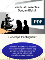 Membuat Presentasi Dengan Efektif