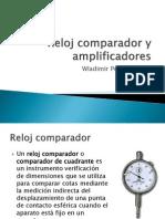 Reloj Comparador y Amplificadores