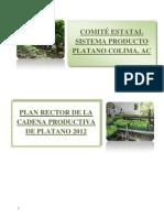 Plan Rector Platano Colima 2012
