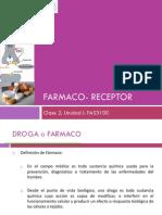 Clase 2 .Unidad I. Fármaco-Receptor.2013