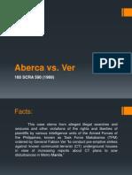 Aberca vs Ver