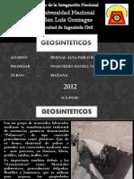 DIAPOSITIVAS - GEOSINTETICOS