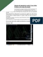 El kit de herramientas de ingeniería social_crear sitios web falsos