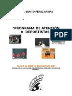 Programa Atencion al Deportista