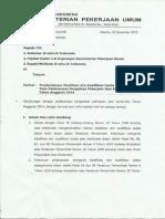 Surat KABA Pemberlakuan Permen 08 - 30DES2013