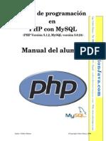 Manual de Programacion Con PHP y MySQL ByPriale