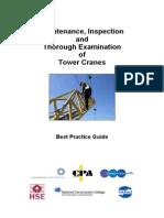 Tower Crane Inspection