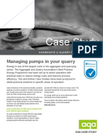 7. Case Study - Quarry Pumping