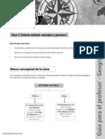 Entorno natural Conceptos generales y procesos I