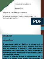 DERECHO PENAL III - 6° SEMANA