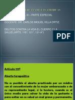 DERECHO PENAL III - 5° SEMANA