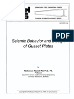 Steel Tips-Seismic Behavior and Design of Gusset Plate-Astaneh Asl