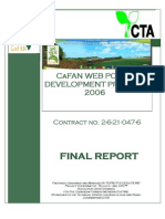 CaFAN Web Portal Project Final Report 2006