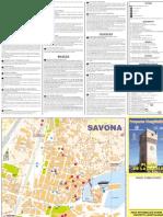 Mapa Turistico de Savona...