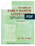 Studies in Early Hadith Literature