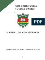Manual de Convivencia San Judas 2014-1