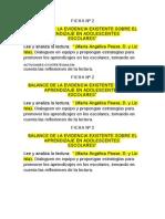 Fichas de Hojas