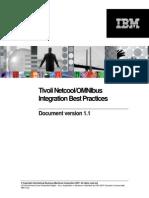 Tivoli NetcoolOMNIbus IntegrationBestPractices