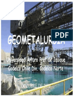 Geometalurgia - Codelco 1