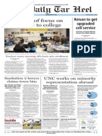 The Daily Tar Heel for April 21, 2014