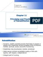 Chapter 11 Principles and Practices in Rehabilitation