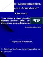 Curso de Especialización en Sistema Acusatorio  Modulo VIII_0