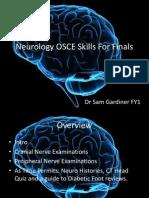 neurology for finals