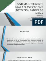 CLASIFICACION Y DETECCIÓN CÁNCER DE MAMA MEDIANTRE