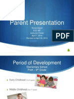 tereza anyan-week 3 assignment - parent presentation