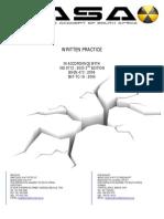 Written Practice (Sample)