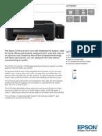 Epson L210 Datasheet
