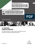 Manual UMX610 Portugues