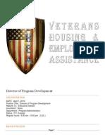 director of program development vhea logo
