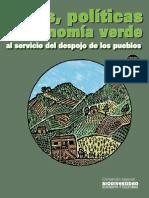 LEYES, POLÍTICAS Y ECONOMÍA VERDE AL SERVICIO DEL DESPOJO DE LOS PUEBLOS