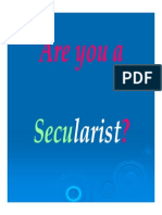 Secularism Revised..