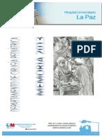 Memoria del Departamento de Cirugía Pediátrica de 2013.pdf