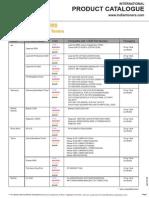 ITDL International Product Catalogo